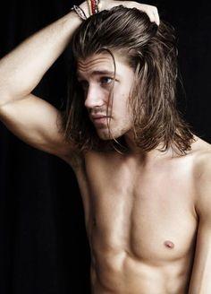 Mens long hair styles