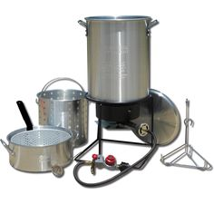 King Kooker #1265BF3- Frying and Boiling Package w/Two Pots