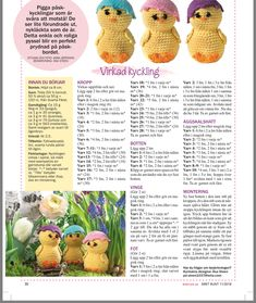 Stick O, Easter Crochet, Crochet Dolls, Happy Easter, Crochet Patterns, Crafty, Sewing, Knitting, Toys