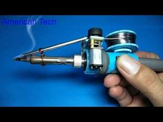 Amazing idea with soldering iron , Automatically soldering iron Electronic Circuit Projects, Electrical Projects, Electrical Installation, Electronic Engineering, Electrical Engineering, Electronics Basics, Electronics Projects, Homemade Tools, Diy Tools