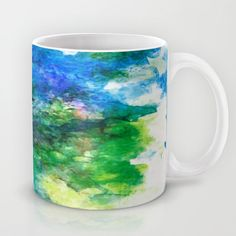 Buy Blue Sea by Groovyfinds as a high quality Mug. Worldwide shipping available at Society6.com. Just one of millions of products available.