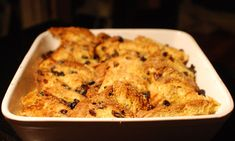 How to make perfect bread and butter pudding (add a teaspoon of cinnamon in with the warm milk, tasty tip!)