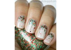 Holiday Nail Art   Beauty High