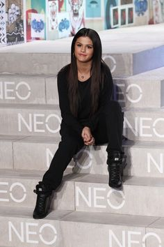 """This """"I dated Justin Bieber"""" drop crotch and sneaker combo. 