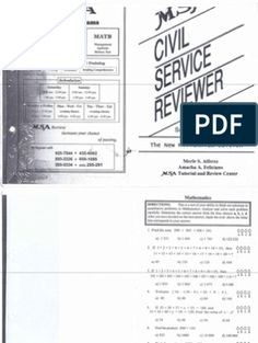 Part I Philippines' Civil Service Professional Reviewer | Test (Assessment) | Leadership & Mentoring Fractions, Mathematics, Assessment, Civil Service Reviewer, Civilization, Exam Study, Word Doc, Philippines, Keys