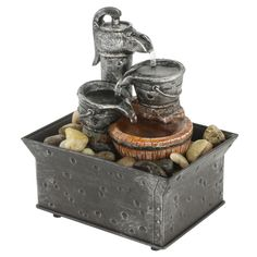 TRANQUILITY WATER PUMP FOUNTAIN - $29.00 #onselz