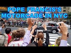 Pope Francis Fiat/NYPD Motorcade in New York City Through Amal's Eyes