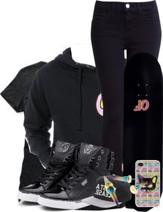 """OFWGK†Δ WOLF GΔNG"" by the-official-definition-of-swagg ❤ liked on Polyvore"