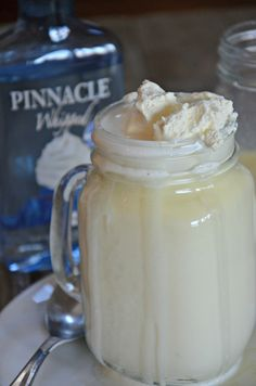 Tipsy Hot White Chocolate, mountainmamacooks...