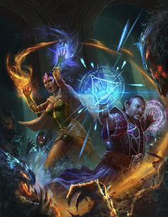 https://macarious.deviantart.com/art/trinity-mage-shadow-battle-647591787