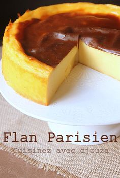 Flan à la parisienne sans pâte Crockpot Recipes Cheap, Baked Chicken Recipes, Tart Recipes, Sweet Recipes, Dessert Recipes, Homemade Hummingbird Food, Flan Cake, Desserts With Biscuits, Food Cakes