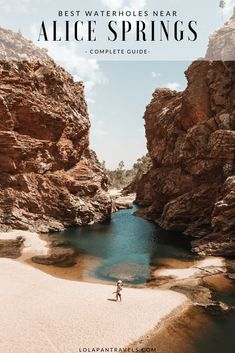 There's no better way to spend the day than taking a refreshing dip in some of the most picturesque and refreshing water holes near Alice Springs. Travel Advice, Travel Guides, Travel Tips, Australia Travel Guide, Australia 2017, Luxury Travel, Travel Around, Travel Inspiration, Travel Photography