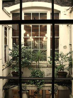 Sir John Soane Museum, courtyard view, London
