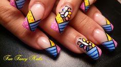 Britto Mania! by FunFancyNails - Nail Art Gallery nailartgallery.nailsmag.com by Nails Magazine www.nailsmag.com #nailart