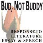 bud not buddy essay prompts