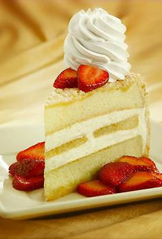 Lemoncello Cream Torte from Cheesecake Factory