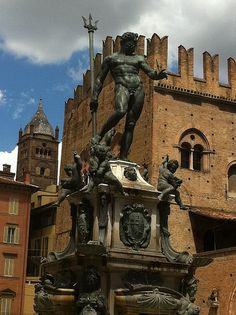 Neptune in Bologna, Italy