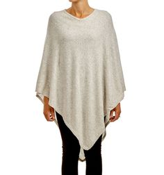 SYLVIE PONCHO PEARL via Jascha online store. Click on the image to see more!