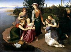 The Rescue of Moses - Johann Friedrich Overbeck