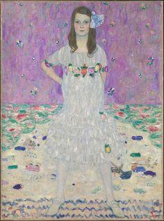 Gustav Klimt- Mada Primavesi, 1912 at the Metropolitan Museum of Art in New York