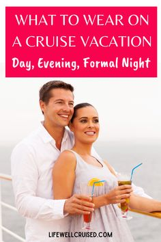 The ultimate guide to what to wear on a cruise vacation. All the info you need about cruise dress codes, cruise outfit ideas for everyone in the family. #cruise #cruiseoutfits #cruisetips Cruise Dress, Cruise Outfits, Vacation Days, Cruise Vacation, Country Club Casual, Luxury Cruise Lines, Cruise Packing Tips, Casual Restaurants