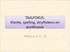 TAALFOKUS: Klanke, spelling, skryftekens en punktuasie> Foto Gif, Afrikaans, Spelling, Lips, Games
