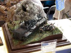 Unknown 1/35 Scale Model Diorama
