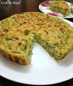 Crust-less Zucchini Pie