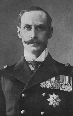 Grandson in law of Queen Victoria - King of Norway, Haakon VII (1872 – 1957), known as Prince Carl of Denmark until the 1905 dissolution of the personal union with Sweden. Married to Maud of Wales. In Norway, Haakon is regarded as one of the greatest Norwegians of the twentieth century and is particularly revered for his courage during the German invasion
