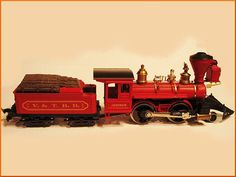 Vintage Train AHM Model HO Scale V.&T.R.R. by FatherTimeClassics, $65.00