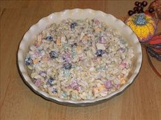 Dunkley's Famous Macaroni Salad  I LOVE this pasta salad! It is my favorite ever! #pasta  #salad