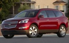 Chevy Traverse - 8 passenger. ((Def. A different color!!))