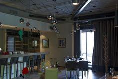 CRUDO at Versuz concept restaurant #Italian #interiordesign 12-25('s) glossy #DARK