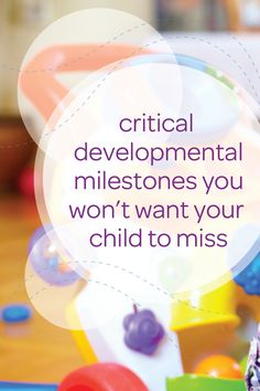 Your toddler is constantly changing and growing—how exciting! From potty training together with Pull-Ups®, to playing independently, there are so many big changes to be excited about. Check out this list of critical developmental milestones you won't want your toddler to miss so you know what to watch out for and then celebrate those little moments—they won't last forever!