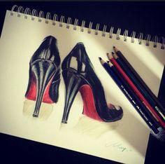 High heels , Christian Louboutin