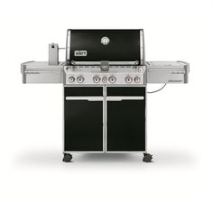 Weber Summit® E-470™ 4-Burner (48,800 BTU) Liquid Propane Gas Grill with Side and Rotisserie Burners (7171001)