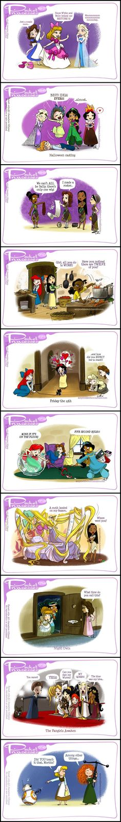 Pocket Princesses (Part 17) by Amy Mebberson