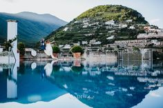 Amalfi Coast wedding in Ravello - photo by Alessandro Ghedina