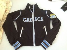 Other Fitness Running and Yoga 13362: New Womens Greece Greek Hellas Ellada Athletic Jacket Size Xlarge -> BUY IT NOW ONLY: $34.99 on eBay!