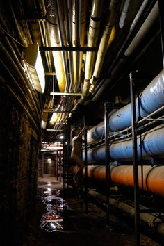 Columbia University tunnel. (Chapter 6)