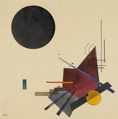relacion con el negro by Wassily Kandinsky