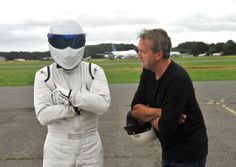 Surrey Life tackles Top Gear track with The Stig