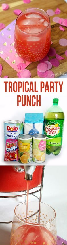 Tropical Party Punch Recipe