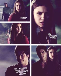 Damon & Elena ~ Season 3 ~ Wickery Bridge ~ The Vampire Diaries