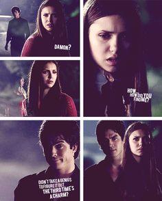 Damon Elena ~ Season 3 ~ Wickery Bridge ~ The Vampire Diaries
