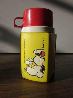 Snoopy Thermos