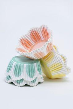 Beautiful cupcake liners!