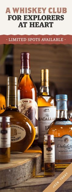 Whiskey Tasting boxes, Private bottlings and More than 15,000 Spirits. Join the Club! #Whiskey #Whiskeyclub #Speakeasy