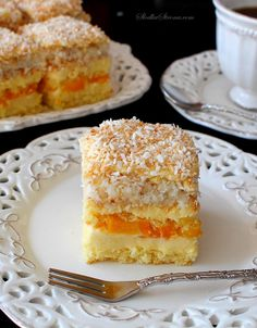 Polish Cake Recipe, Polish Recipes, Sweet Recipes, Cake Recipes, Dessert Recipes, Pineapple Coconut Bread, Oreo Cupcakes, No Bake Cake, Cheesecake