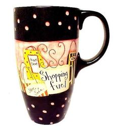 Totes For Her Lepoard Striped Heated Auto Mug Holds 16 Oz.stainless Steel Body